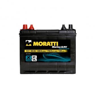 MORATTI Marine & RV Energy 80 Ah MC24MF