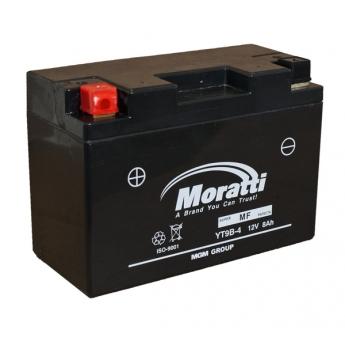 Moratti 12V 8 Аh с/зар.с/эл.(YTX9-BS)