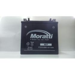 Moratti  12V12 А/ч с/зар.с/эл.(YTX14-BS)1700р.