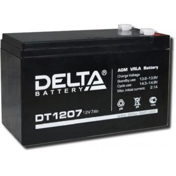 АКБ DT 1207 Delta