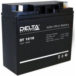 АКБ DT 1218 Delta 2300р.