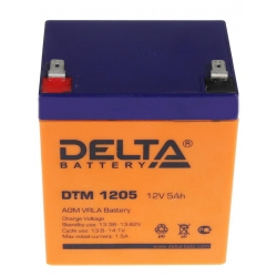 АКБ DTM 1205 Delta 1150р.