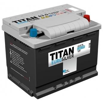 АКБ Titan Euro Silver 63 Ah