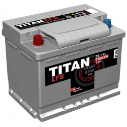 АКБ Titan EFB 75 Ah