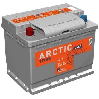 АКБ Titan Arctic Silver 75 Ah