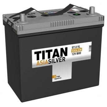 АКБ Titan Asia Silver 57 Ah