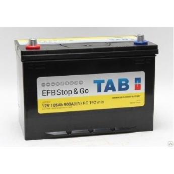 АКБ TAB EFB Stop&Go 105 Ah