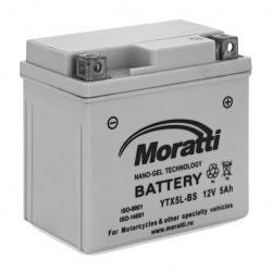 Moratti 12V 5 А/ч NANO GEL (YTX5L-BS) (MPRO12X5)