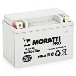 Moratti 12V 9Ач Nano Gel (YTX9-BS)