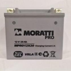 Moratti 12V20 А/ч Nano Gell (YTX18L-BS) (MPRO12X18)