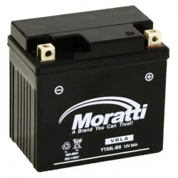 Moratti 12V 5 А/ч зал.(YTX5L-BS) (MP12X5)