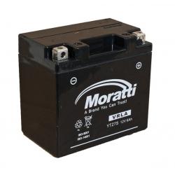 Moratti 12V 6 А/ч зал.(YTZ6S) (MP12Z6)