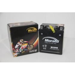 Moratti 12V 7 А/ч зал.(YTX7L-BS) (MP12X7)