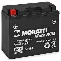 Moratti 12V10 А/ч зал.(YT12B-4) (MP1212B4)