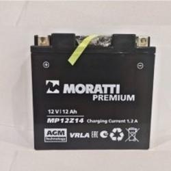Moratti 12V12 А/ч зал.(YT14B-4) (MP12Z14)