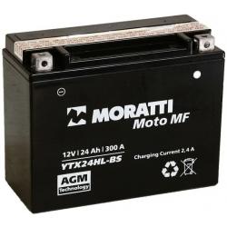 Moratti 12V24 А/ч с/зар.с/эл. (YTX24HL-BS) (MEP12X24H)