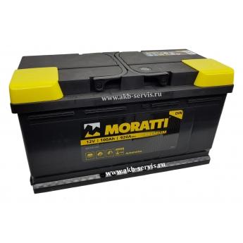 АКБ Moratti 100 Ah Прямая полярность