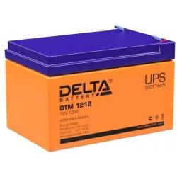 АКБ DT 1212 Delta 1850р.
