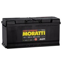 АКБ Moratti AGM 105 Ah Обратная полярность