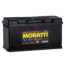 АКБ Moratti AGM 95 Ah Обратная полярность